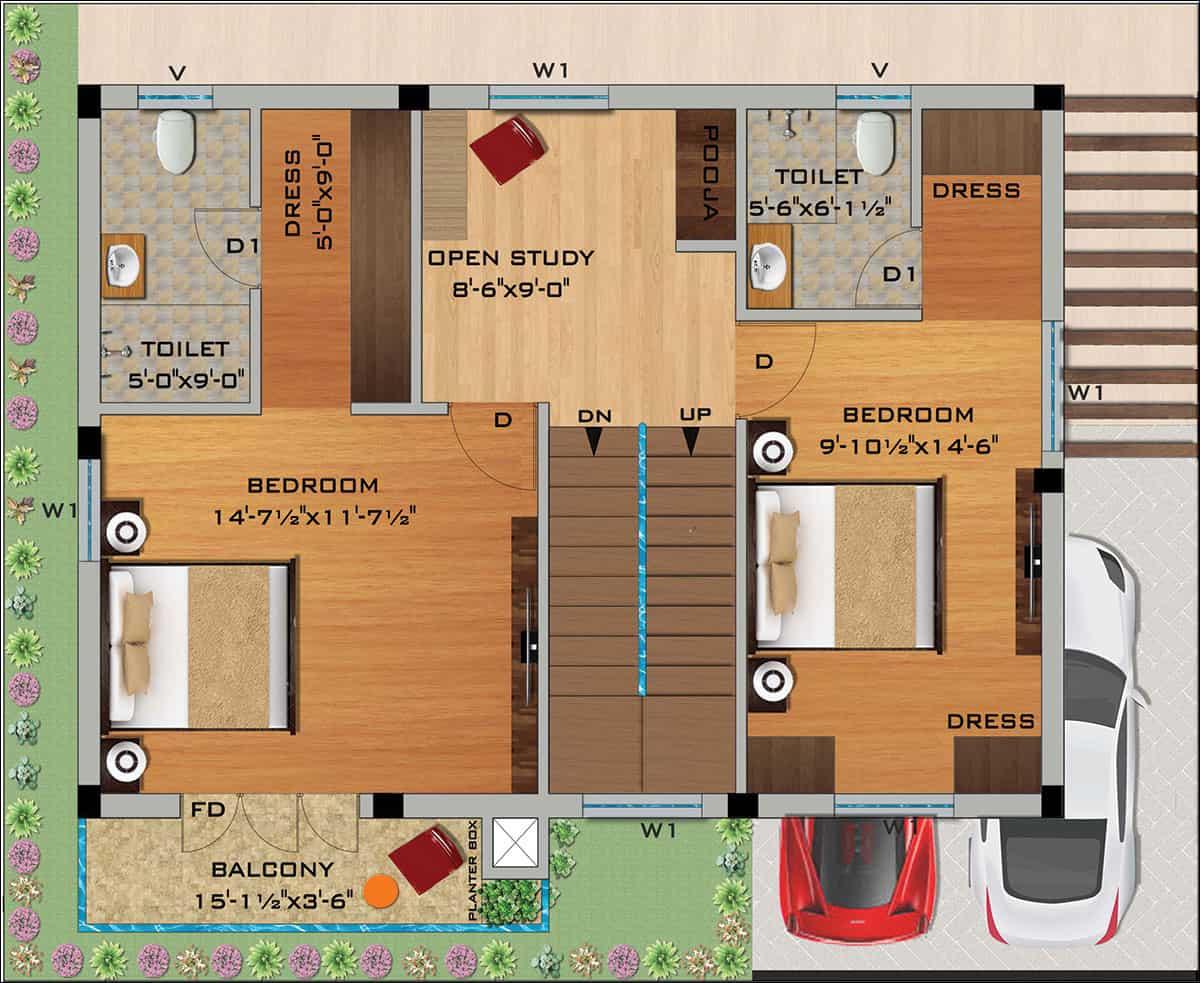 Kelambakkam independent villas for sale, OMR, chennai